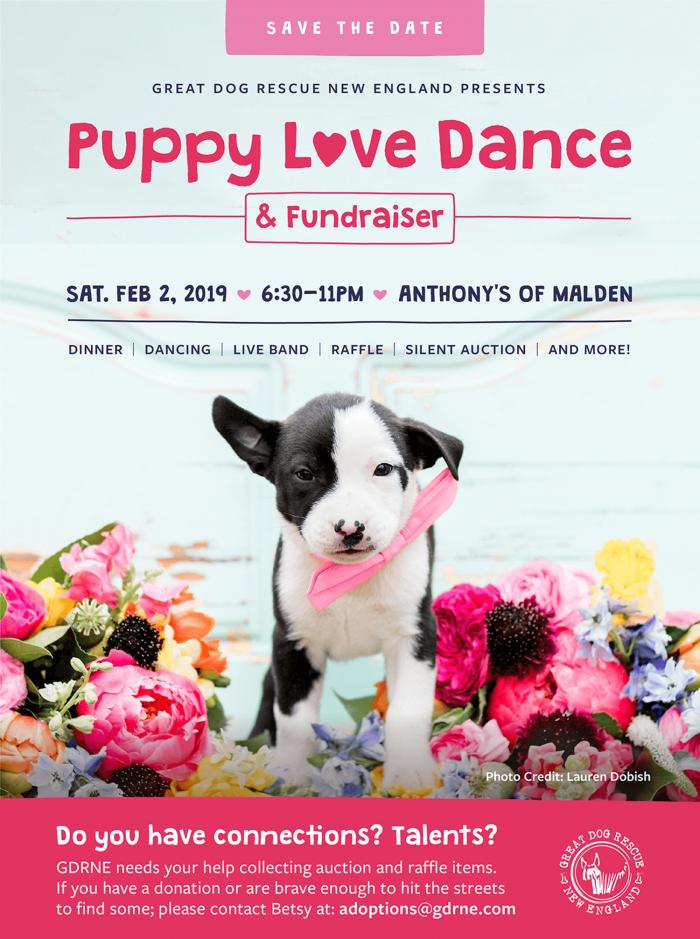 GDRNE Puppy Love Dance Save the Date